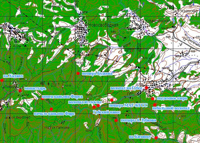 мостовской район краснодарского края карта помощью этой таблицы