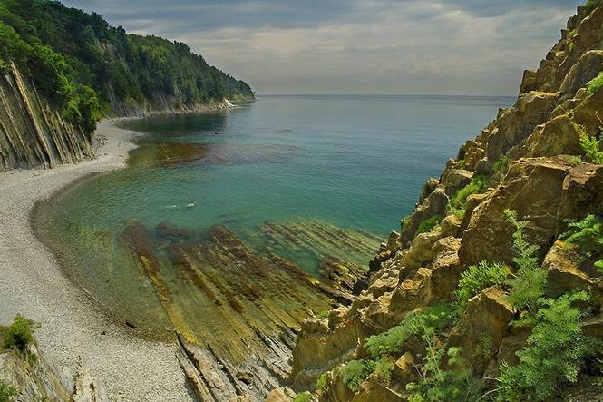Самый красивый пляж краснодарского края